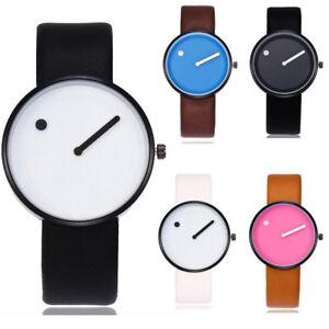 Modern-Women-039-s-Simple-Casual-Quartz-Leather-Band-Strap-Watch-Analog-Wrist-Watch