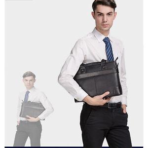 New-Mens-Portfolio-Business-Case-Handbag-Briefcase-Laptop-Shoulder-Messenger-Bag