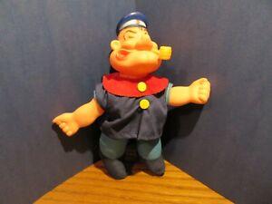 Vintage-1979-Uneeda-Popeye-8-039-039-Figure-Plush-and-plastic