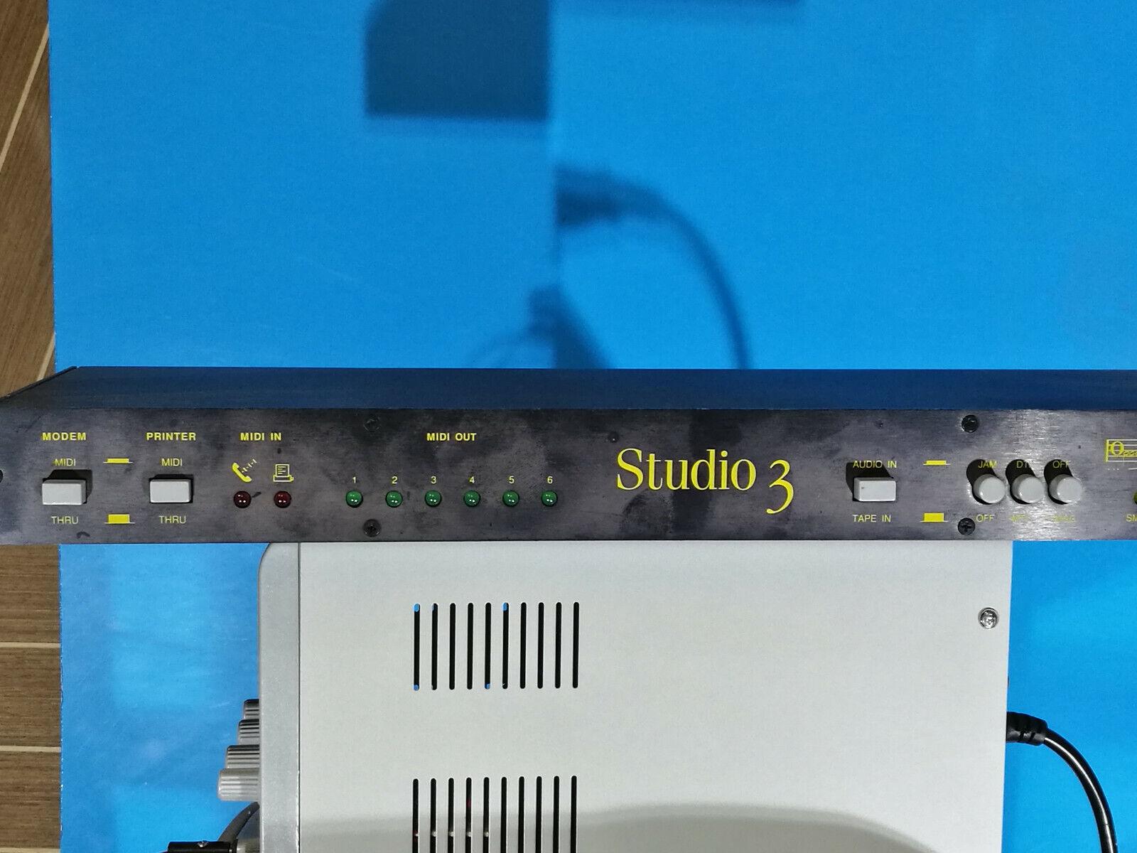 Opcode studio 3 rackmount midi interface