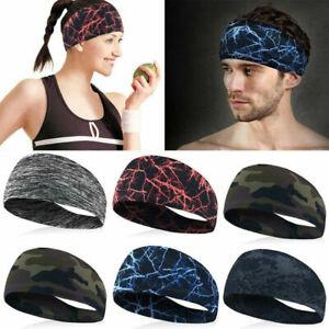 Men-Women-Sweat-Sweatband-Headband-Yoga-Gym-Running-Stretch-Sports-Head-Band-New