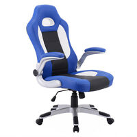 Pu Leather Executive Racing Style Bucket Seat Chair 2017 Office Desk Chair on sale