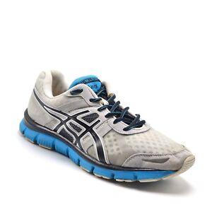 ASICS-Gel-Blur-33-Mens-Sz-9-5-Running-Cross-Training-Shoe-White-Blue-Sneakers