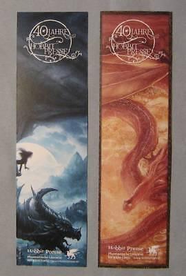 2 Hobbit Presse-jubiläums-lesezeichen – Neu!