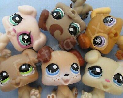 Littlest Pet Shop Set Lot 2 Random Baby Boxer Puppy Dogs Set Authentic Lps Ebay