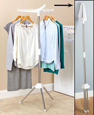 Foldable Clothes Laundry Drying Rack Dryer Hanger Stand Hang and Dry Small Space