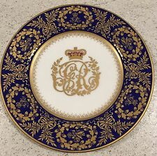 Cobalt Blue & Gilt Royal Collection George III Plate