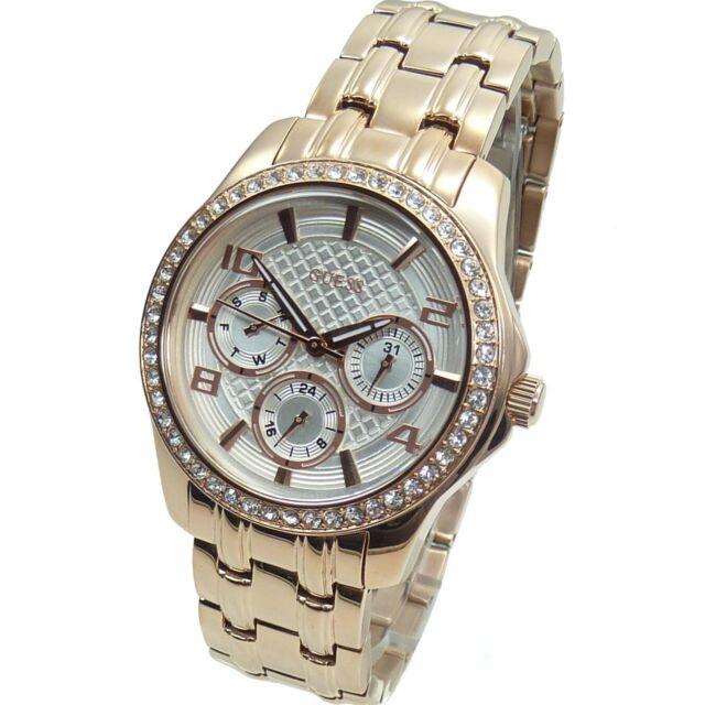 43 De W0403l3 Guess Ejecutivo Mujeres Relojes Mini Reloj Rosa Oro sdtQhr