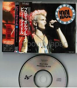 BILLY-IDOL-Prodigal-Blues-JAPAN-5-034-MAXI-CD-TOCP-6570-w-OBI-INSERT