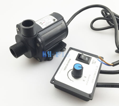 HSH-Flo DC Water Pump 24V 3 Phase Hot Water Booster Pump 3000L//H Amphibious