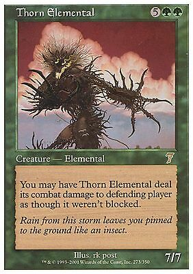Green Eighth 8th Edition Mtg Magic Rare 1x x1 1 FOIL Thorn Elemental