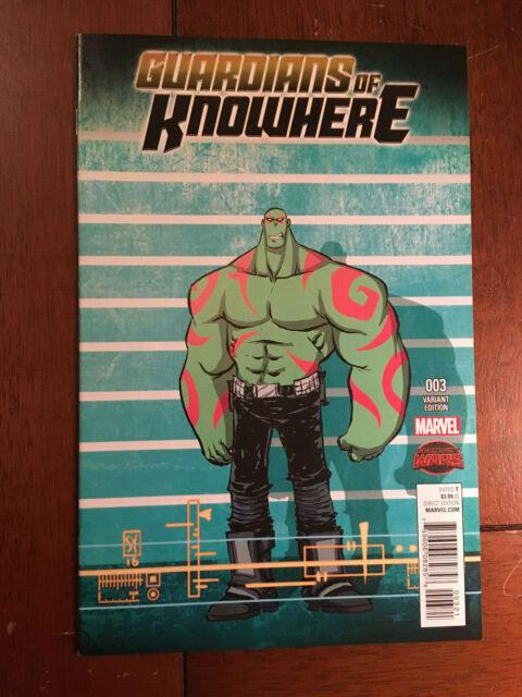 Guardians of Knowhere #3 Venom Variant Edition  Marvel Comics HP922