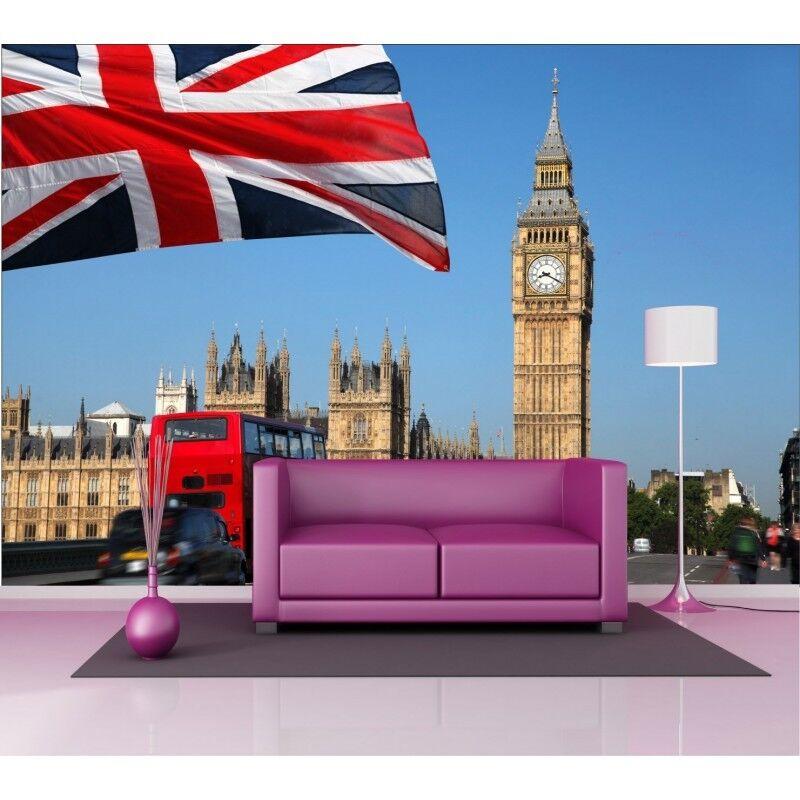 Stickers géant déco : Londres Big Ben Ben Ben 1441 e0de94