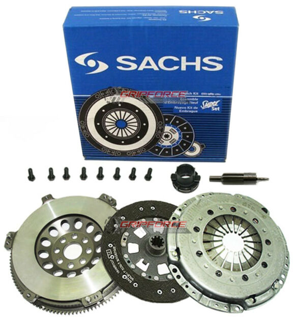 SACHS SUPER CLUTCH KIT & CHROMOLY FLYWHEEL for 98-99 BMW 323 i is E36