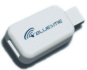 A estrenar genuino Fiat 500 Blue /& Me Adaptador para iPhone iPod /& iPad 71805430