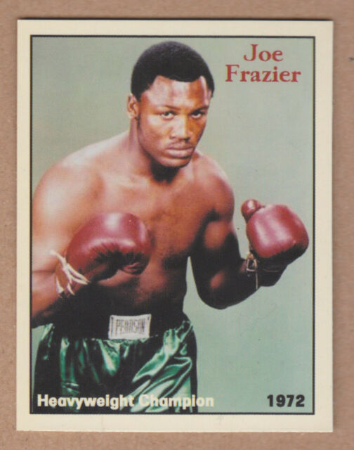 Joe Frazier Heavyweight Boxing Champion rare NYC cab card  🔥