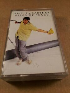 Paul-McCartney-Pipes-Of-Peace-Vintage-Tape-Cassette-Album-From-1983