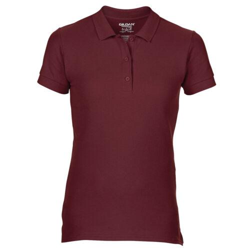 Gildan Femme Premium Coton Double Pique Polo Shirt GD73