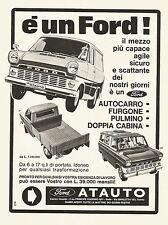 W0523 Ford - Concessionaria Atauto - Torino - Pubblicità 1967 - Advertising