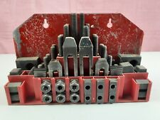 Machinist Hold Down Clamp Set 58 T Slot Nut 12 X 13 Threaded Studs Amp Case