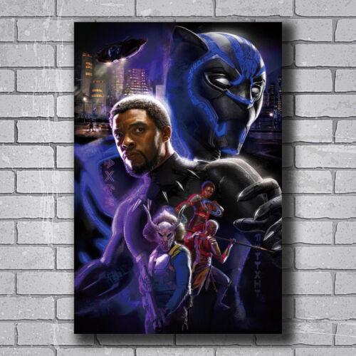 New Black Panther Movie Marvel Comics Custom Poster Print Art Decor T-345