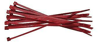 CTB403 100 Pcs Cable Ties 140 x 3.6mm Red