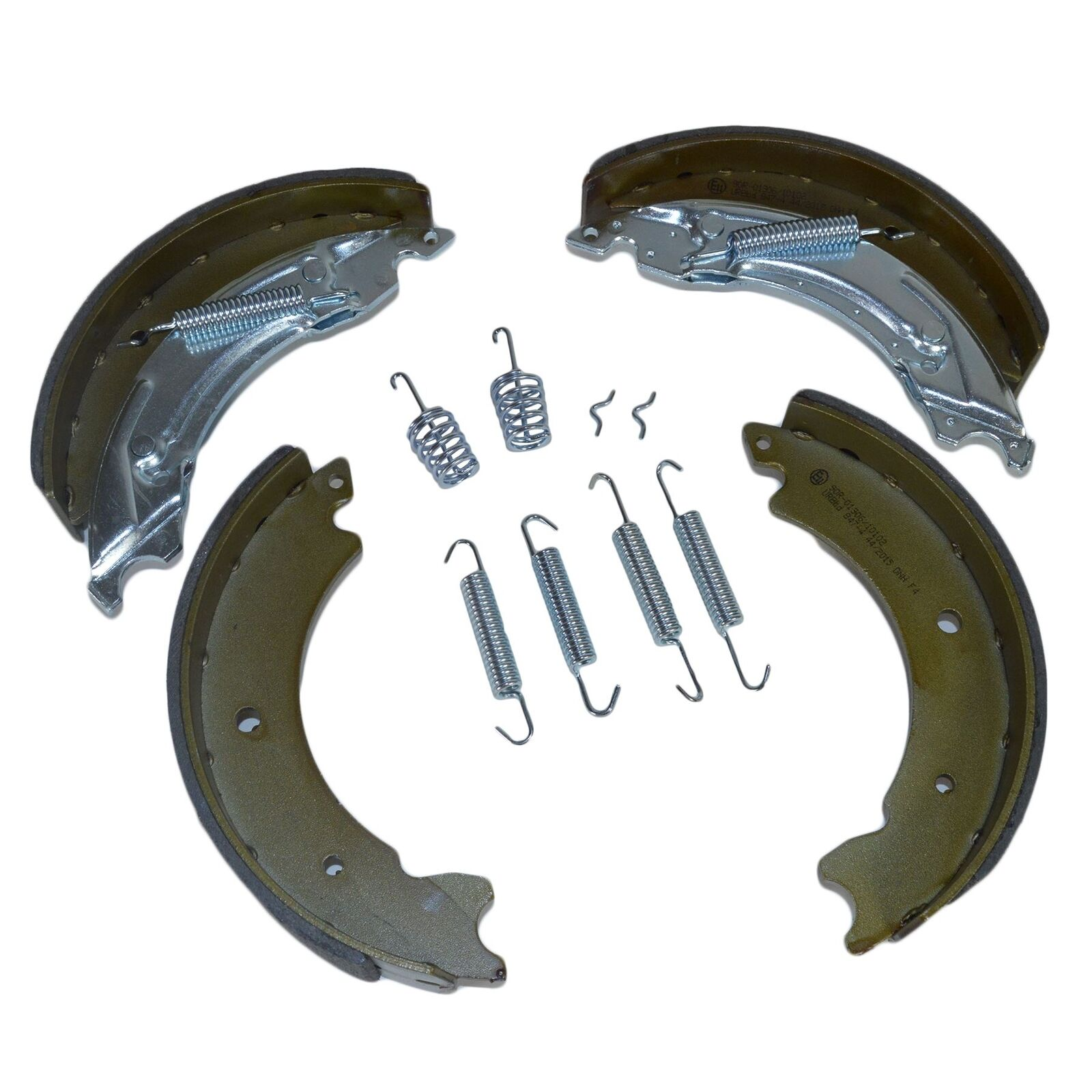 Trailer Brake shoes Replacements Spring Kit 203mm x 40mm KNOTT Style Axles