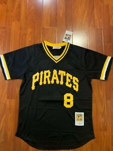 wholesale dealer 0e5de 4f6db Details about Willie Stargell Pittsburgh Pirates #8 Jersey Size Large