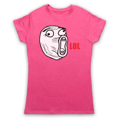 LOL FACE MEME RAGE COMIC FUNNY JOKE COMEDY LAUGH MENS WOMENS KIDS T-SHIRT