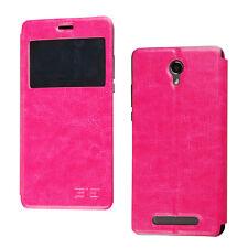 Funda de tapa flip cover / Leather case Elephone P6000 / P6000 Pro Fucsia / Rose