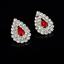 Fashion-Elegant-Women-Bib-Crystal-Pendant-Statement-Chain-Chunky-Choker-Necklace miniature 44