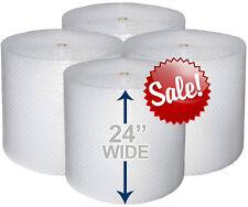24 Wide 316 X 700 Ft Bubble Roll Small Bubbles 1400 Sqft Cushion Wrap