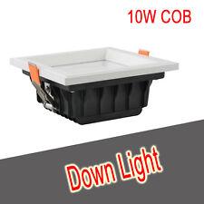 10w COB proiettorino DA INCASSO FARETTO LED BIANCO LUMINOSO cucina soffitto tetto verso il basso giorno