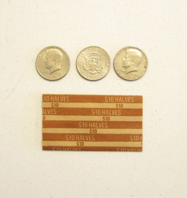 100 NICKELS COIN OLD STYLE FLAT WRAPPERS