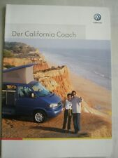 VW California Coach brochure Apr 2002 German text