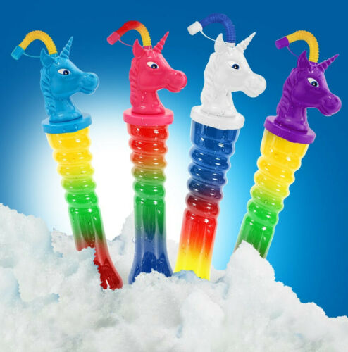 MIX Farben Ice Becher Slush Yard Cups UNICORN 500 ml 112//0.94€ St