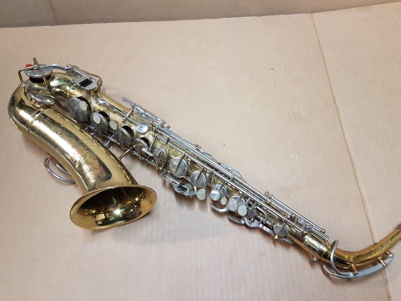1974 Buescher Aristokrat Altsax Saxophon in usa