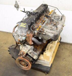 Jeep Wrangler Yj 40l 6 Cylinder Engine 91 95 192k Mi Motor 91e Ebay