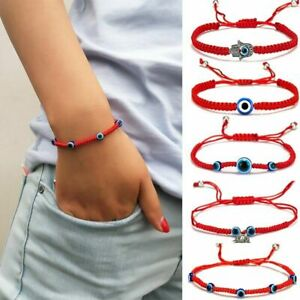 Fashion-Lucky-Evil-Eye-Beaded-Bracelet-Rope-String-Braided-Bangle-Jewelry-Gifts