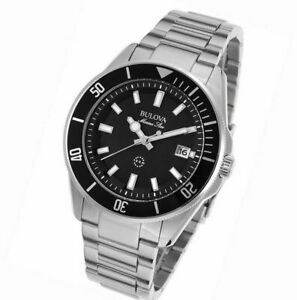 Bulova Watch Men's Stainless 98b203 Steel nP0wkO