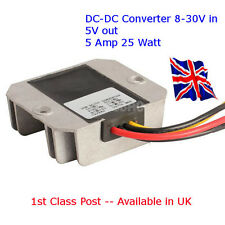 Fuente de alimentación DC-DC 12V/24V a 5V 5A - 25W Arduino-Raspberry Pi