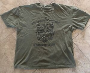 b0aa66298047 Image is loading UFC-ULTIMATE-FIGHTING-CHAMPIONSHIP-Olive-Green -Short-Sleeve-