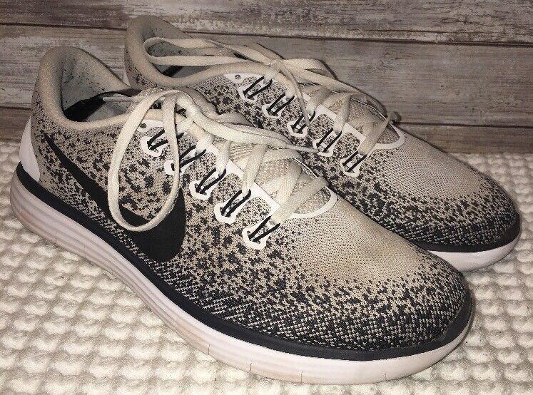efd9018ea5c Nike Free RN RN RN Distance Running Shoe Grey White Black 827115 100 Sz 10  NO