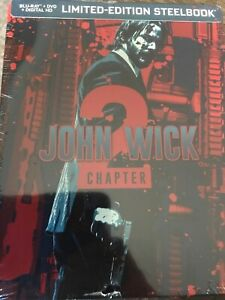 John-Wick-Chapter-2-Blu-ray-DVD-SteelBook-NEW-Limited-Edition
