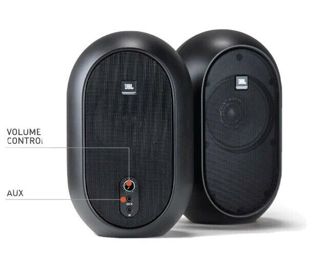 JBL 104 Compact Powered Studio Reference Monitors