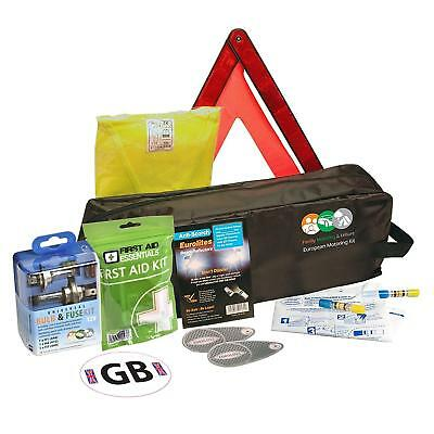 CAR ACCESSORIES EUROPEAN TRAVEL KIT ESSENTIAL MOTORING HOLIDAY ABROAD GIFT SET  eBay
