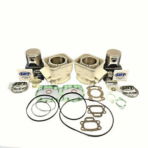 1-50mm-Sea-Doo-657X-GTX-Cylindres-Pistons-Joints-1994-1996-Blanc-6913382-C