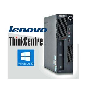 PC-COMPUTER-FISSO-DESKTOP-LENOVO-M90-i3-530-SMALL-MINI-WINDOWS-10-4GB-160GB
