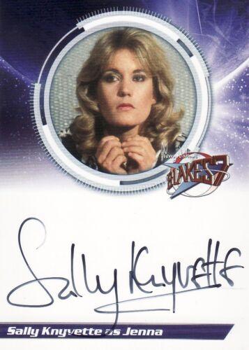 Blakes Blake/'s 7 Series 1 Sally Knyvette as Jenna S1SK Auto Card