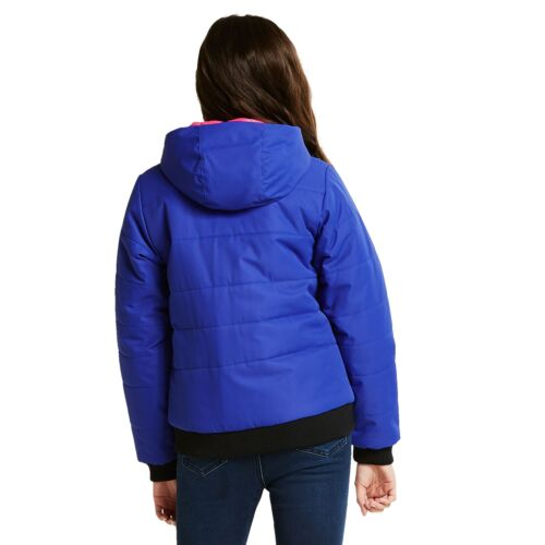 Dare2b Precocious Girls Jacket Waterproof Lightly Insulated Bomber Style Coat
